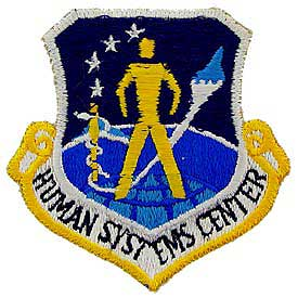 Human Systems Center Air Force Patch