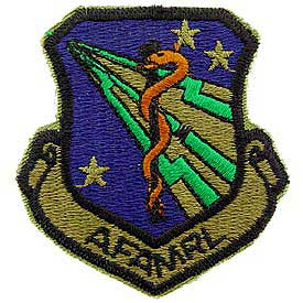 AFAMRL Air Force Patch - HATNPATCH