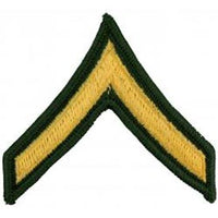 Army E2 Private Dress Green Pair Patch - HATNPATCH