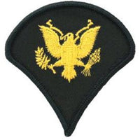 Army Spec4 Specialist 4 Dress Green Pair Patch - HATNPATCH