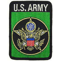 US Army Green Rectangle Patch - HATNPATCH