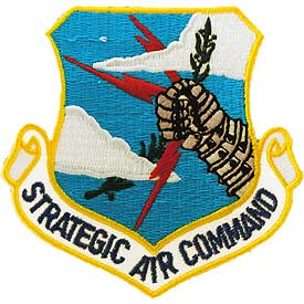 Strategic Air Command Air Force Patch