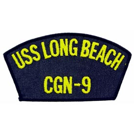 USS Long Beach CGN-9 Navy Patch - HATNPATCH