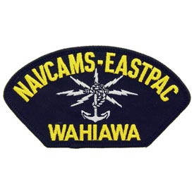 NAVCAMS-EASTPAC Wahiawa Navy Patch