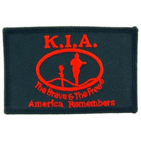 KIA Flag Patch