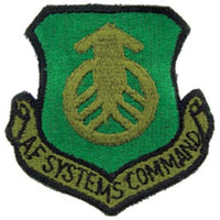 AF Systems Command Subd Air Force Patch - HATNPATCH