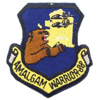 AMALGAM WORRIOR - 88 Air Force Patch