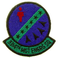 3314TH MGT ENG SQ Subd Air Force Patch - HATNPATCH