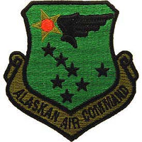 Alaskan Air Command Subd Air Force Patch - HATNPATCH