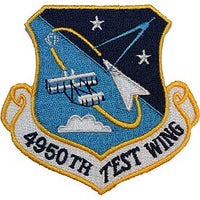 4950th Test Wing Air Force Patch - HATNPATCH