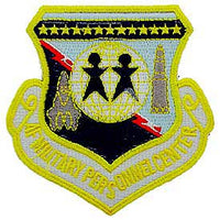 AF Military Personnel Center Air Force Patch - HATNPATCH