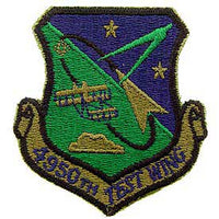 4950th Test Wing Subd Air Force Patch - HATNPATCH