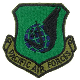Pacific Air Force Subd Patch - HATNPATCH