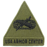 Armor Center OD Subd Army Patch - HATNPATCH