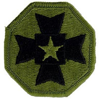 Medical Command Europe OD Subd Army Patch - HATNPATCH