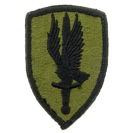 1st Aviation Brigade OD Subd Army Patch - HATNPATCH