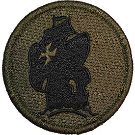 Jungle School of the Americas OD Subd Army Patch