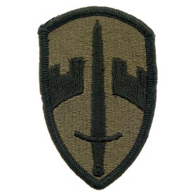 MACV OD Subd Army Patch - HATNPATCH