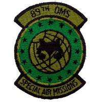 89th Organizational Maintenance Squadron OMS Subd Air Force Patc