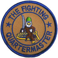 The Fighting Quartermaster Army Patch - HATNPATCH