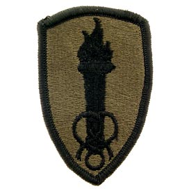 Soldier Support OD Subd Army Patch