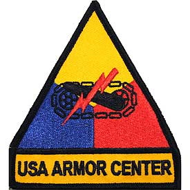 USA Armor Center Army Patch - HATNPATCH
