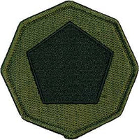 85th Division Training Command OD Subd Army Patch - HATNPATCH