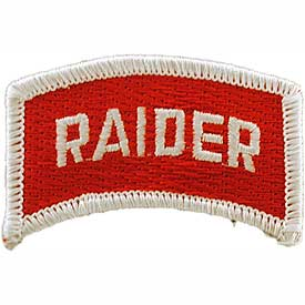 Raider Tab Rocker Army Patch - HATNPATCH