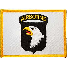 101st Airborne Flag Army Patch - HATNPATCH