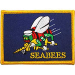 Navy Seabee Flag Patch