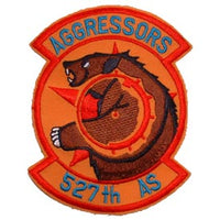 527th AS Aggressor Squadron Air Force Patch