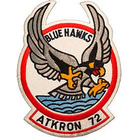 ATKRON-72 Blue Hawks Navy Patch