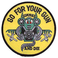 Harrier Go For Your Gun Marine Corps Patch