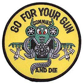 Harrier Go For Your Gun Marine Corps Patch - HATNPATCH