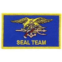 Navy Seal Team Flag Patch - HATNPATCH