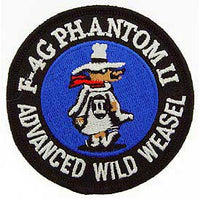 F-4G Phanton II Advanced Wild Weasel Navy Patch - HATNPATCH