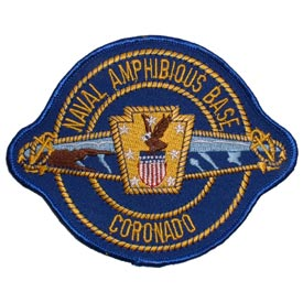 Naval Amphibious Base NAB Coronado Navy Patch - HATNPATCH