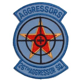 26th Aggressor Squadron Air Force Patch - HATNPATCH