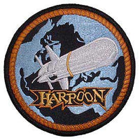 Harpoon Missile Navy Patch - HATNPATCH