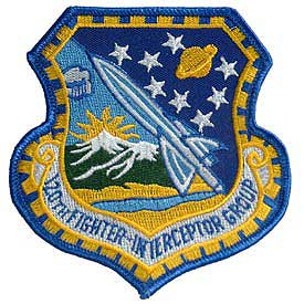 120th Fighter Interceptor Group Air Force Patch - HATNPATCH