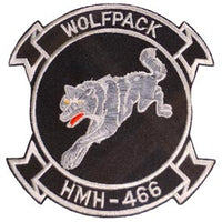 HMH-466 Wolfpack -2 Marine Corps Patch