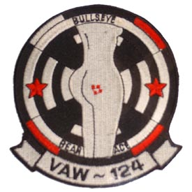VAW-124 Bear Aces Navy Patch