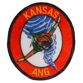 Kansas Air National Guard Air Force Patch - HATNPATCH