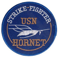 USN F/A-18 Hornet Strike Fighter Navy Patch