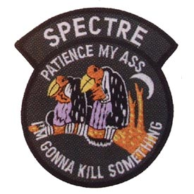 Spectre - Patience My Ass w/Vultures Air Force Patch