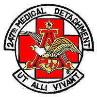 247th Medical Detatchment Air Force Patch - HATNPATCH