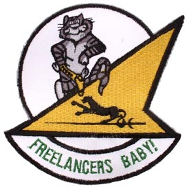 VF-21 Freelancers Baby Navy Patch