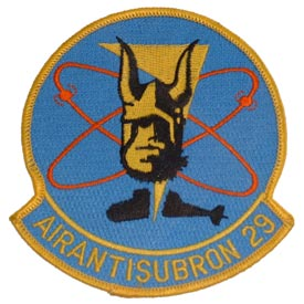 AirAntiSubRon VS-29 Dragon Fires Navy Patch