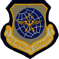 Air Mobility Command AMC Air Force Patch Mock Leather Backing - HATNPATCH