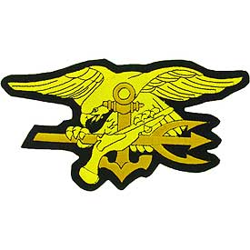 Navy Seal Trident Medium Patch - HATNPATCH